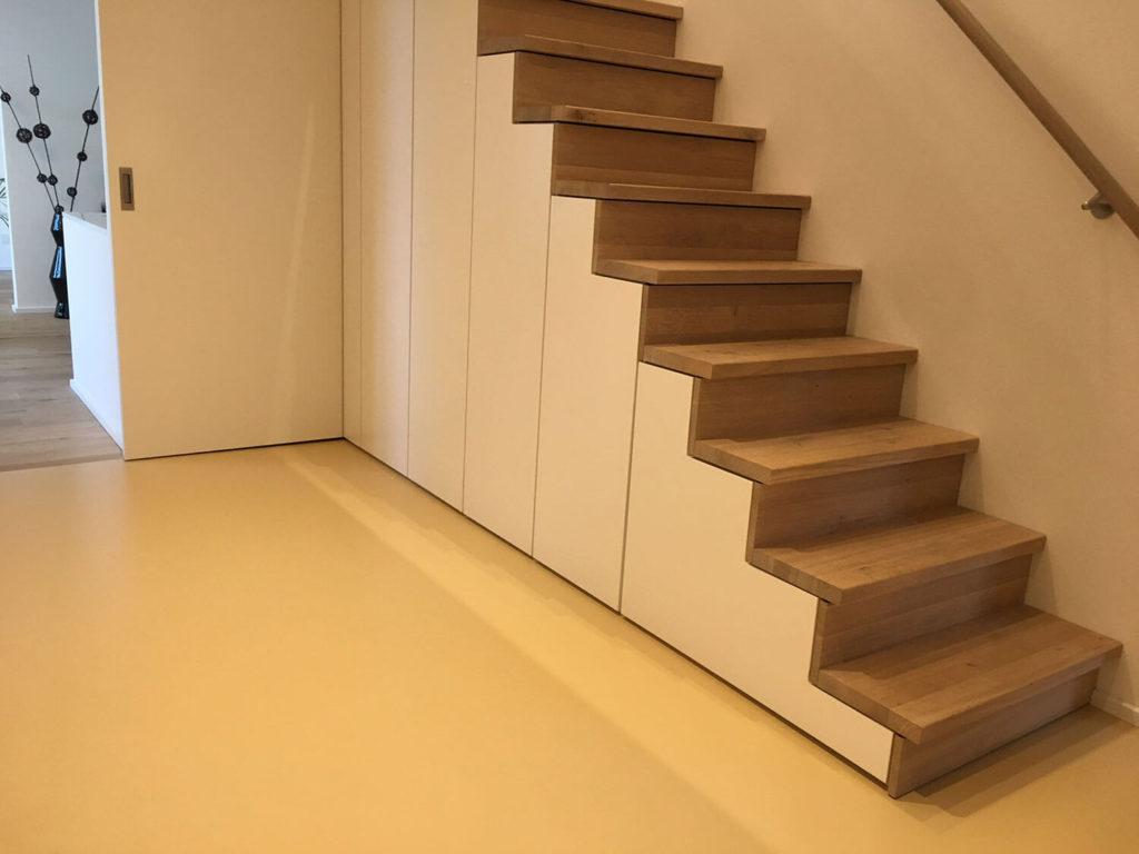 Referenzen aus dem Bereich UniColor-Fußböden