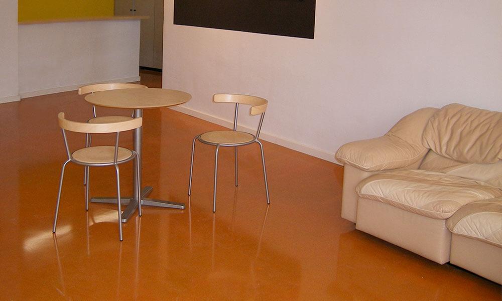 DecoLevel-Fußbodenbeläge – Bodenbeschichtung aus Epoxidharz