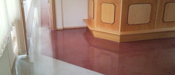 Fußboden – Terrazzo