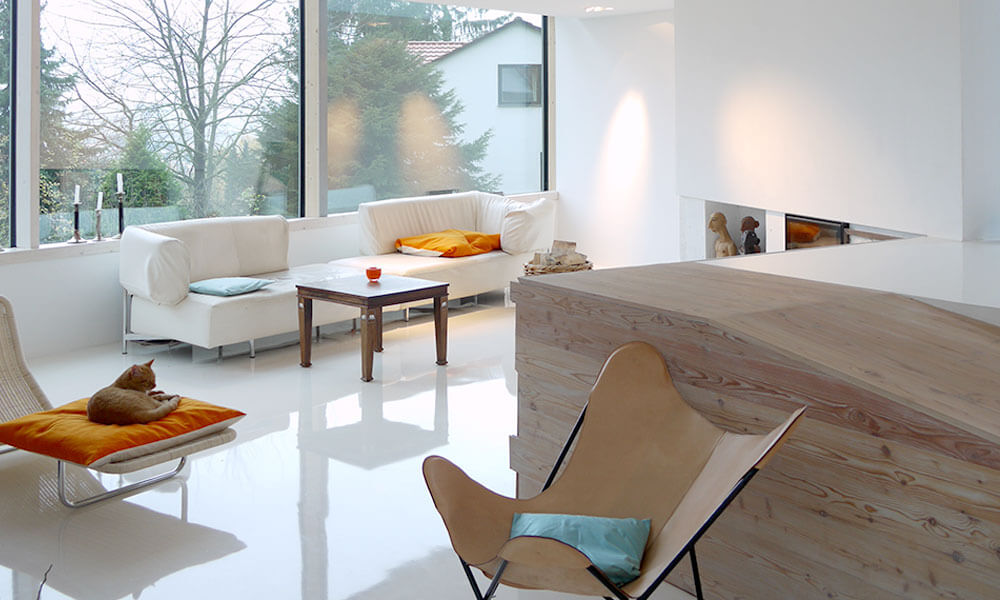 UniColor-Fußbodenbeläge – Bodenbeschichtung aus Epoxidharz